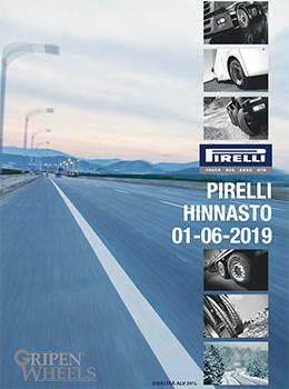 Pirelli Hinnasto